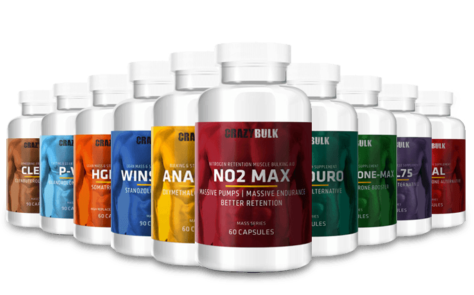 crazybulk legal steroids alternative