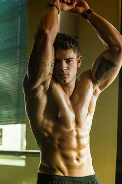 muscle man bodybuilding