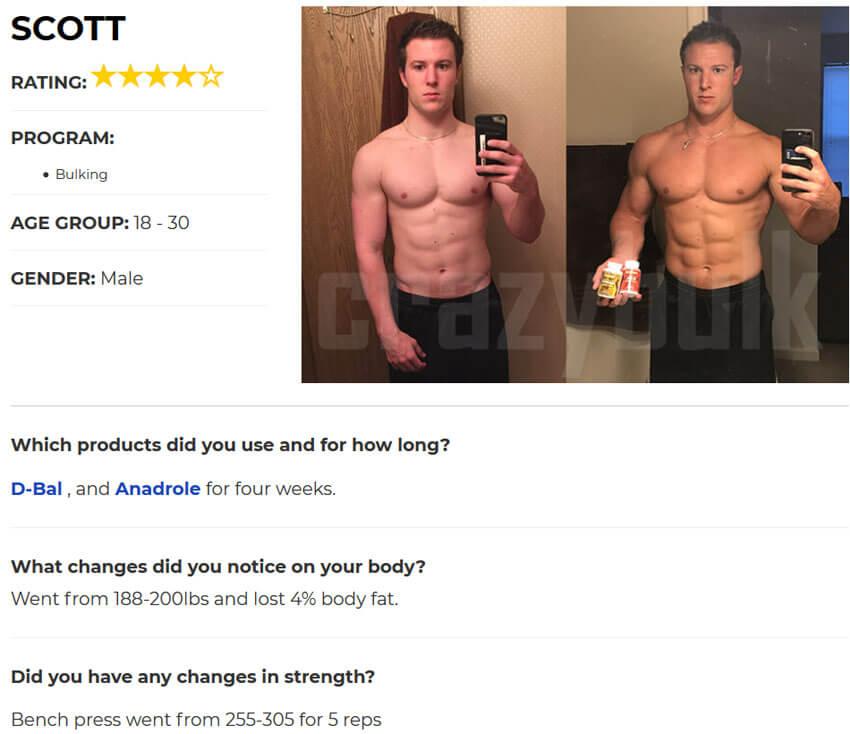 young boy dbol results