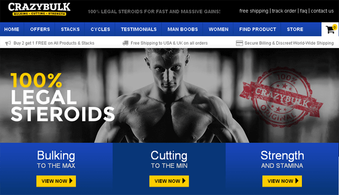 legal steroid stacks on crazybulk.com site