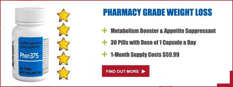 phenemine375 diet pills specification