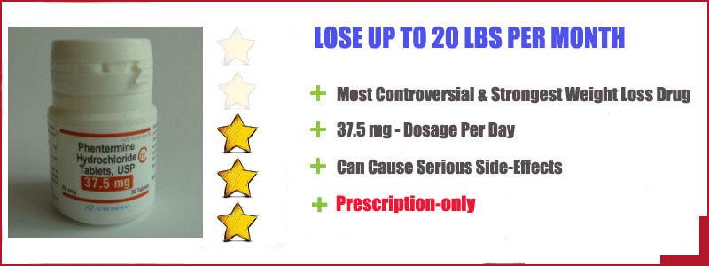 phentermine 37.5 features - lose 20 lbs