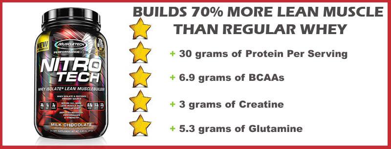 muscletech nitro tech protein