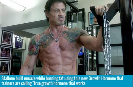 Stallone using true growth hormone that works