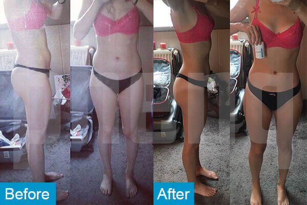 weight loss supplement before and after
