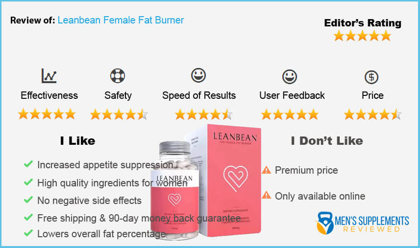 Leanbean Female Fat Burner Rating