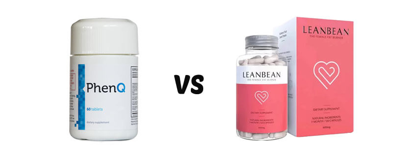 phenq vs leanbean female fat burner